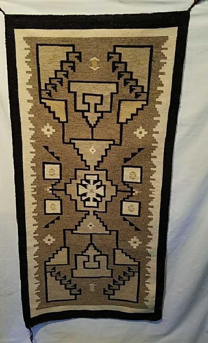 "Navajo Rug 53"" x 26.5"""