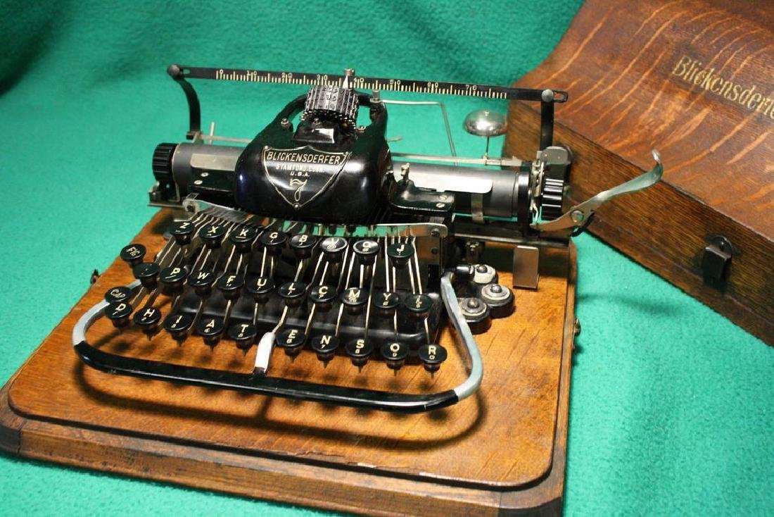 Antique Blickensderfer No.7 Typewriter