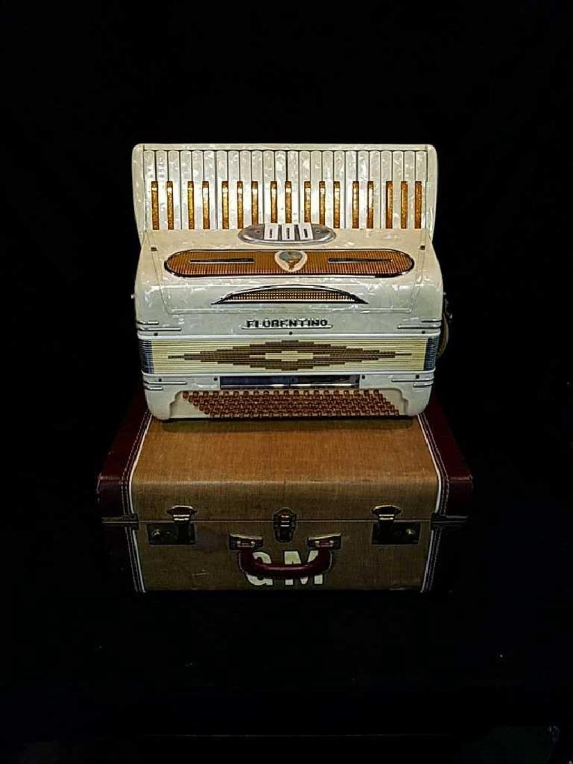 Florentino  Accordion made in Italy.