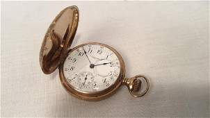 Waltham Watch Co ladies 14K pocket watch.