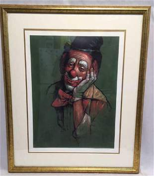 Leighton Jones 109/325 Clown Print