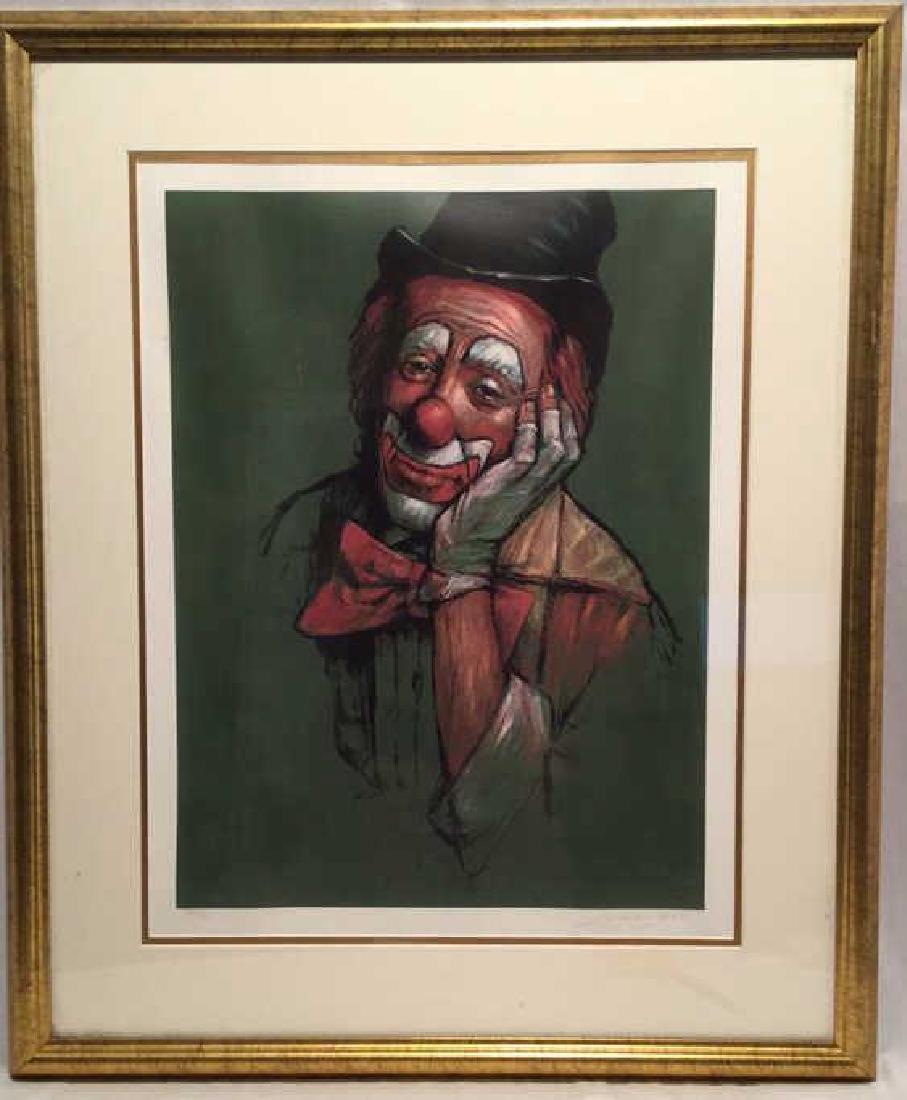 Leighton Jones 109/325 Clown Print - 2