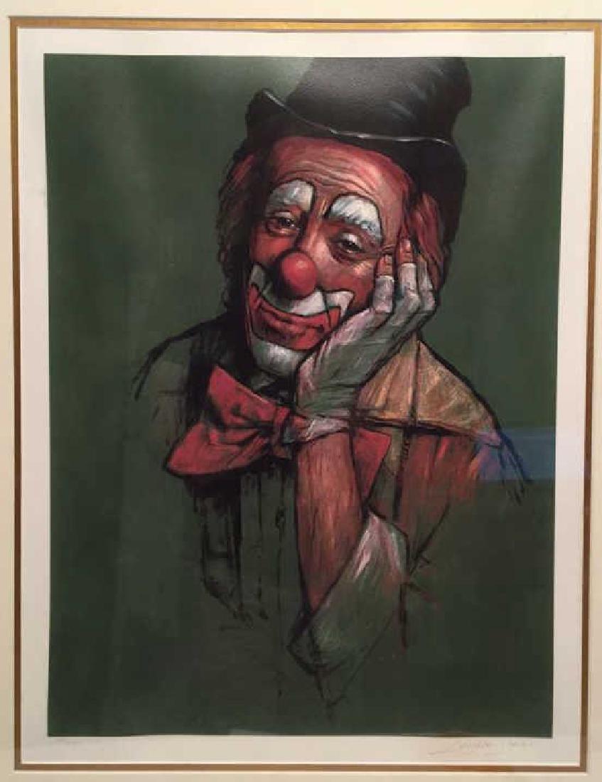 Leighton Jones 109/325 Clown Print - 3