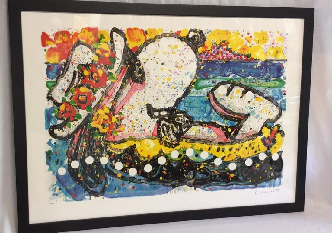 """Chillin"" by Tom Everhart  Lithograph 114/500"