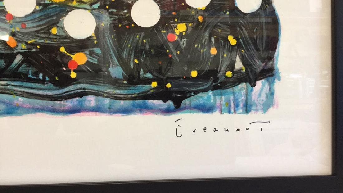 """Chillin"" by Tom Everhart  Lithograph 114/500 - 3"