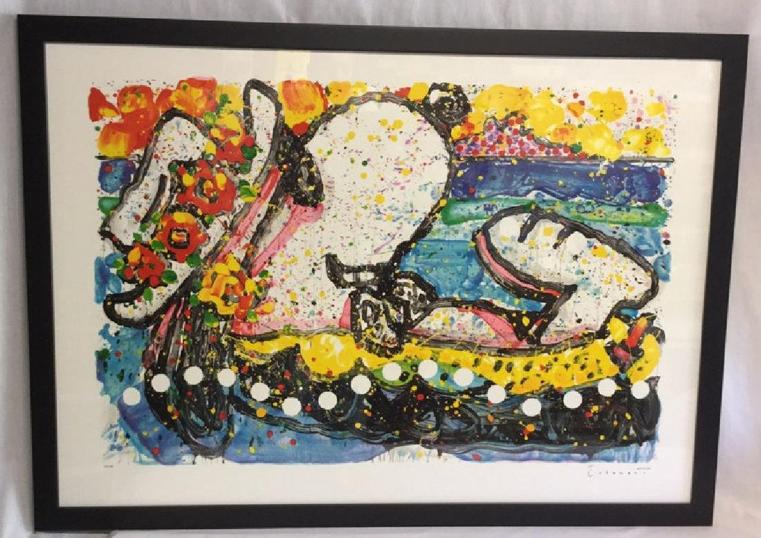 """Chillin"" by Tom Everhart  Lithograph 114/500 - 4"