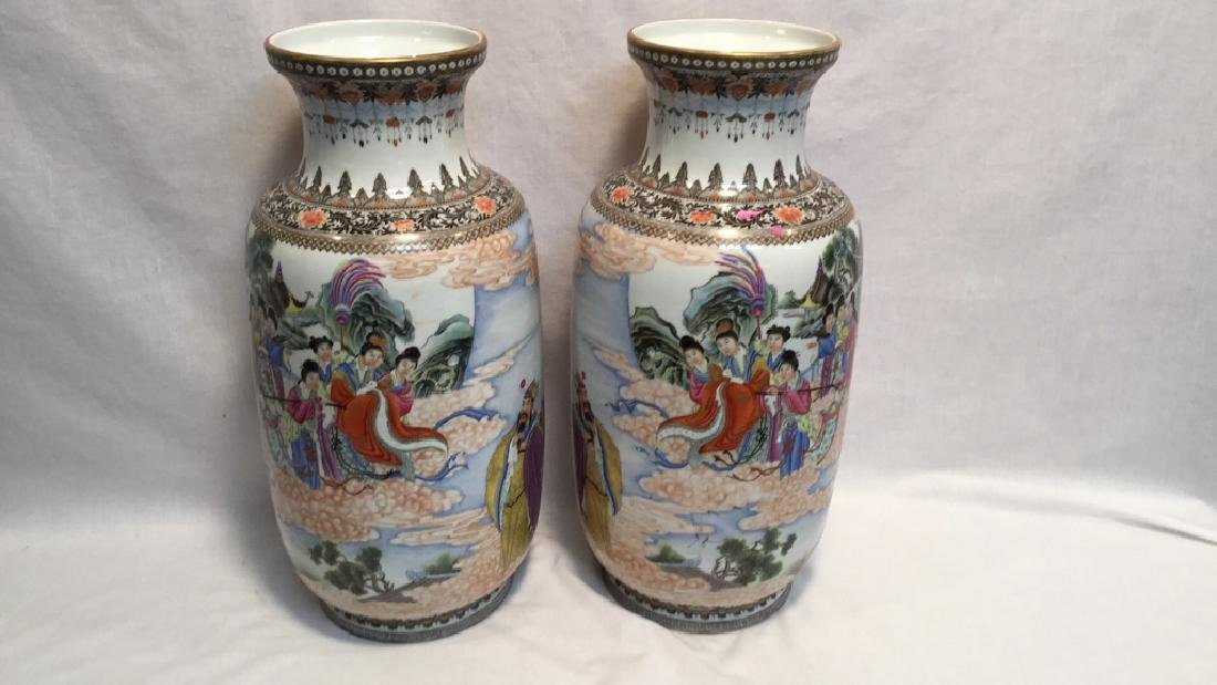 Chinese Famille Vases