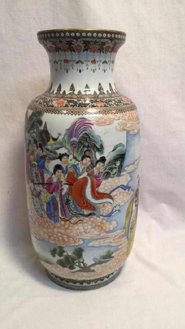 Chinese Famille Vases - 2