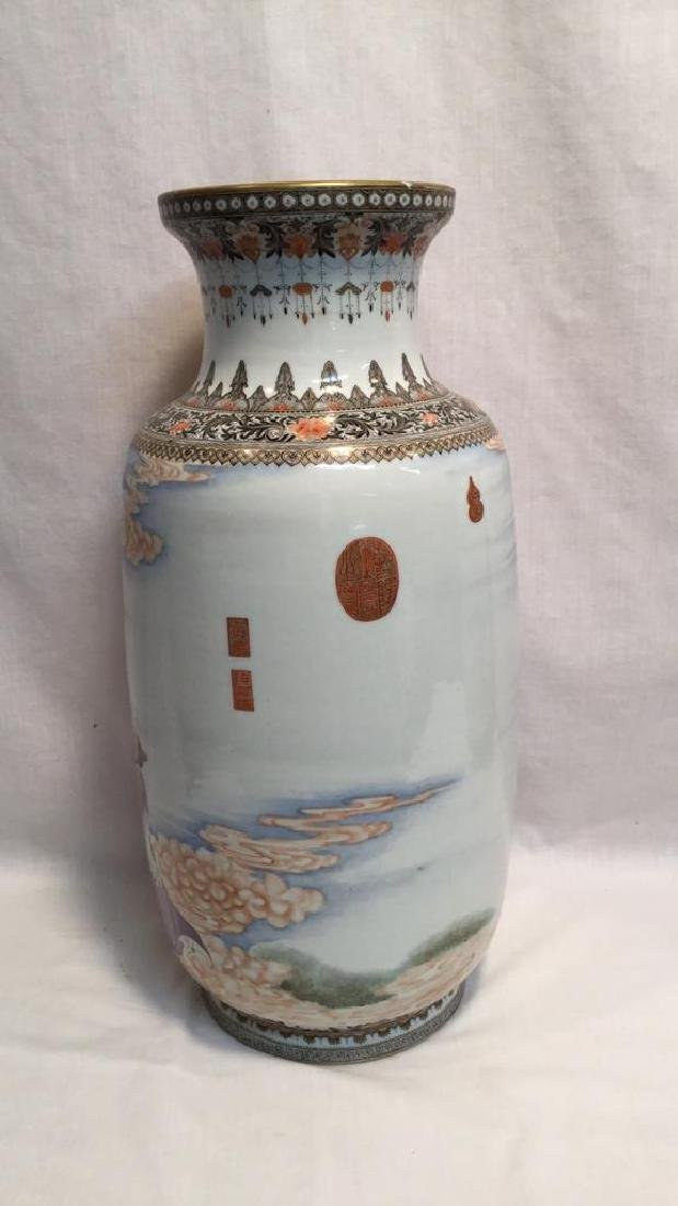 Chinese Famille Vases - 3
