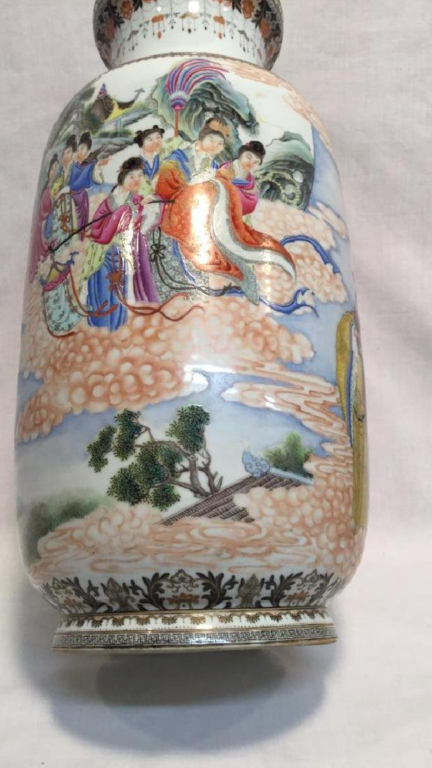 Chinese Famille Vases - 4