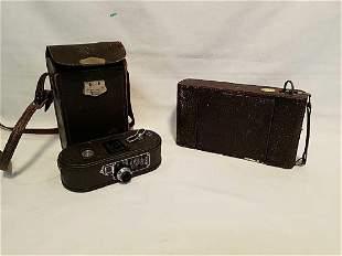 Keystone 8mm Movie Camera plus additional camera