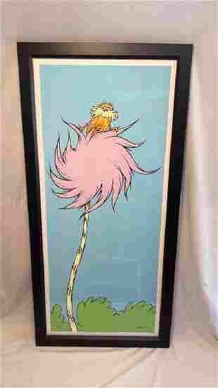 "Dr. Seuss ""EARTH-FRIENDLY LORAX""  Framed"