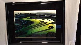 """""""SILENT MEADOW 1990"""" by Eyvind Earle RESIVED $"""