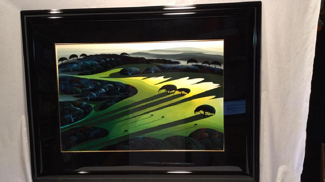 """SILENT MEADOW 1990"" by Eyvind Earle RESIVED $"