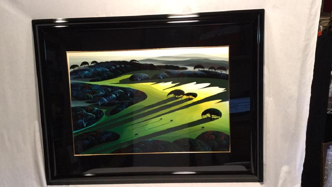 """SILENT MEADOW 1990"" by Eyvind Earle RESIVED $ - 2"