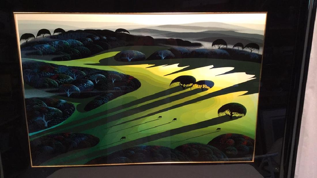 """SILENT MEADOW 1990"" by Eyvind Earle RESIVED $ - 3"