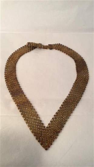 Vintage Gold Plated Choker.