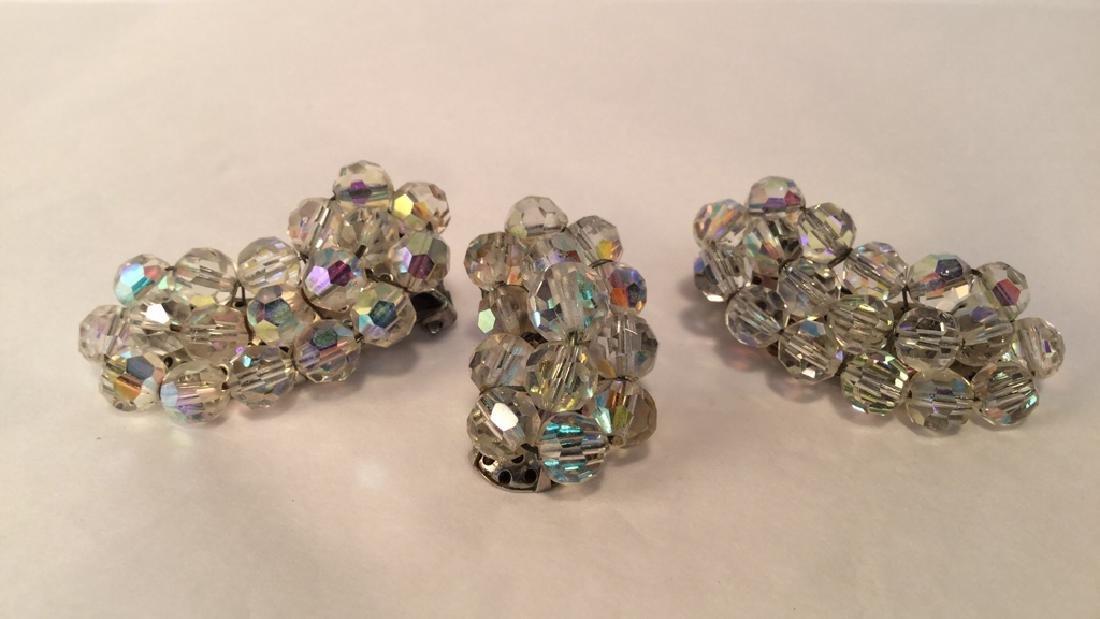 Antique Crystal Earrings