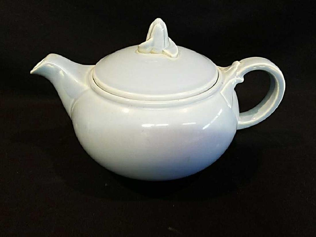 Lu-Ray c.1940s Art Deco Blue Teapot