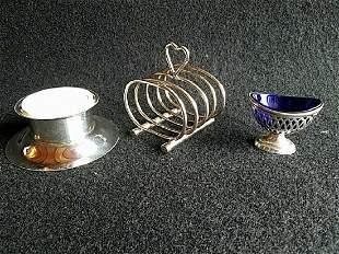 Salt cellar letter holder, incense burner