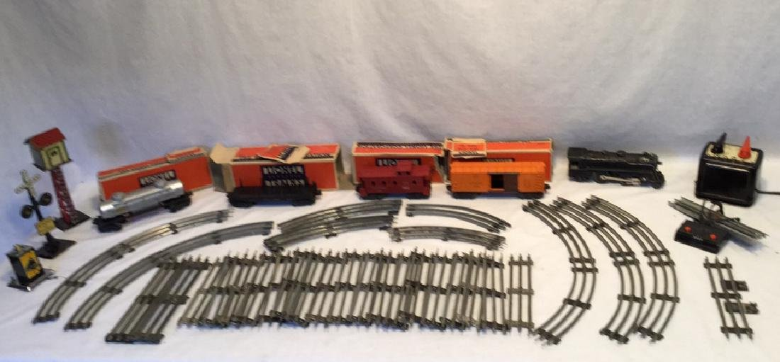 """Price Lowered""Lionel Train set with cars, track & etc."