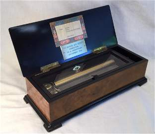 Reuge 144 Teeth Music Box for the Society