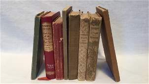 Eight Vintage books 1897-1918
