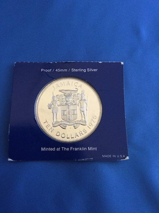 1975 Jamaica $10 Coin