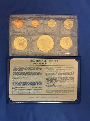 2 New Zealand Coin Sets