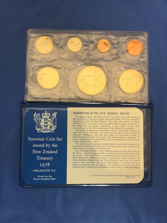 2 New Zealand Coin Sets - 2