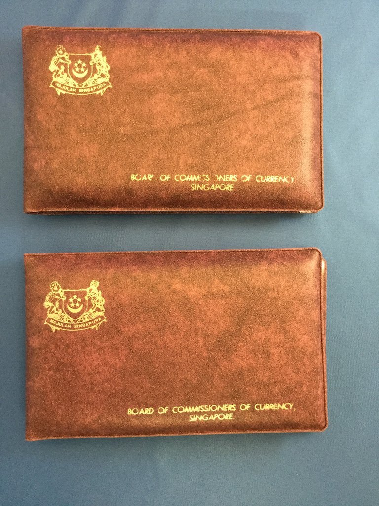 2 Singapre Proof Sets