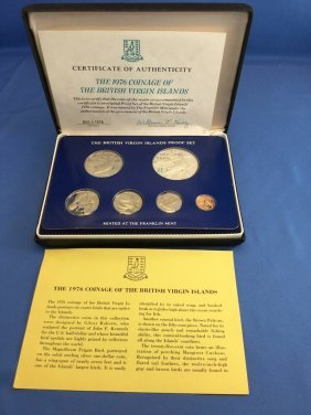 2 1974 Virgin Island Proof Sets