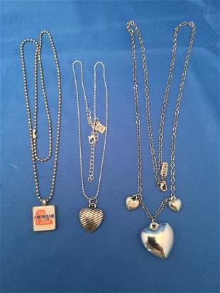 9 necklaces