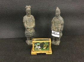 Terra-cotta soldier miniatures