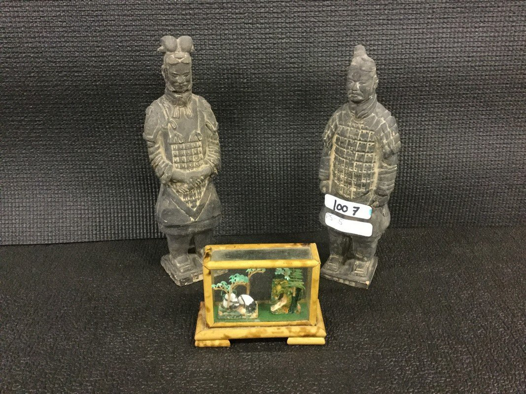 Terra-cotta soldier miniatures