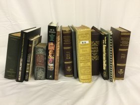 Leather bound and hardcover books