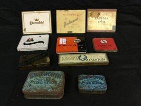 Vintage cigarette boxes