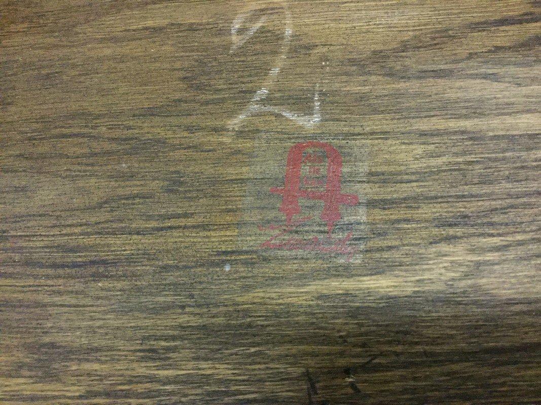 Gustav Stickley arts and craft oak drop front desk. - 5