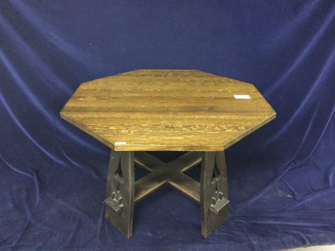LIMBERT SPADE CUTOUT OCTAGONAL TABLE