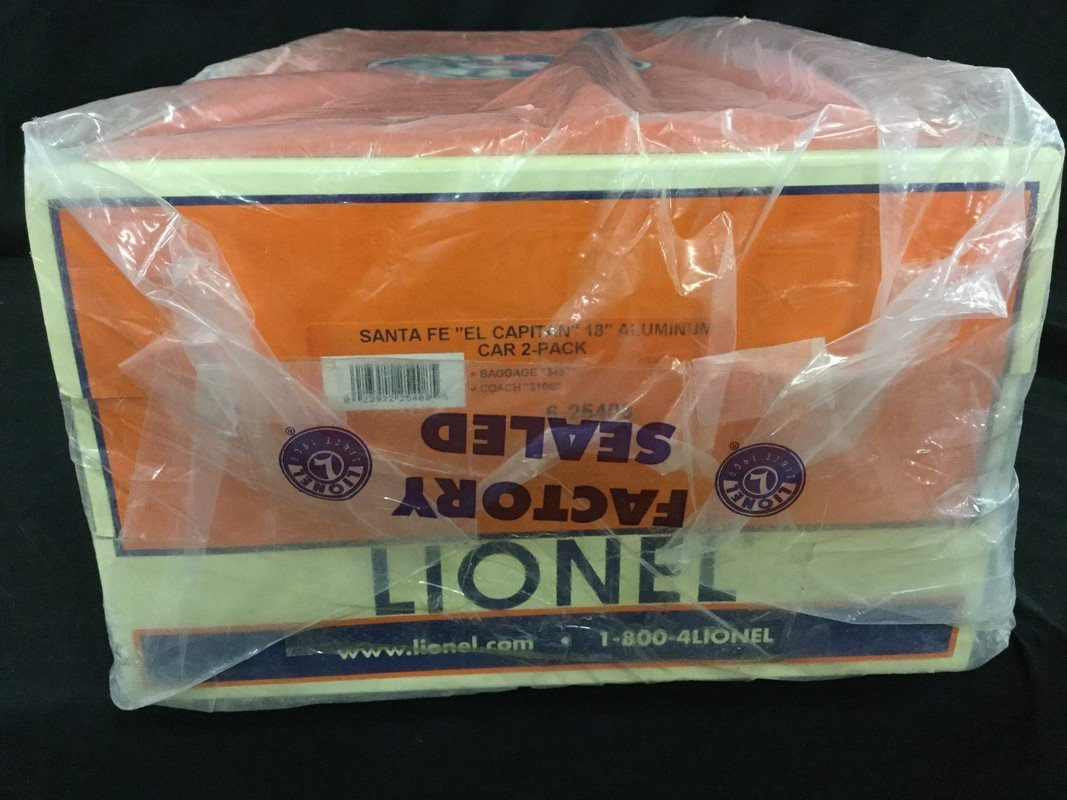 Lionel car two pack in box - 2