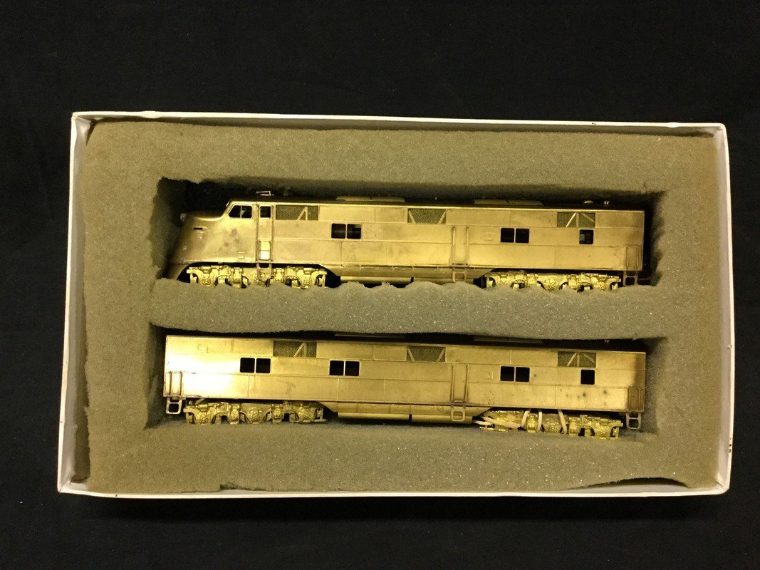 One Hallmark models inc. locomotive