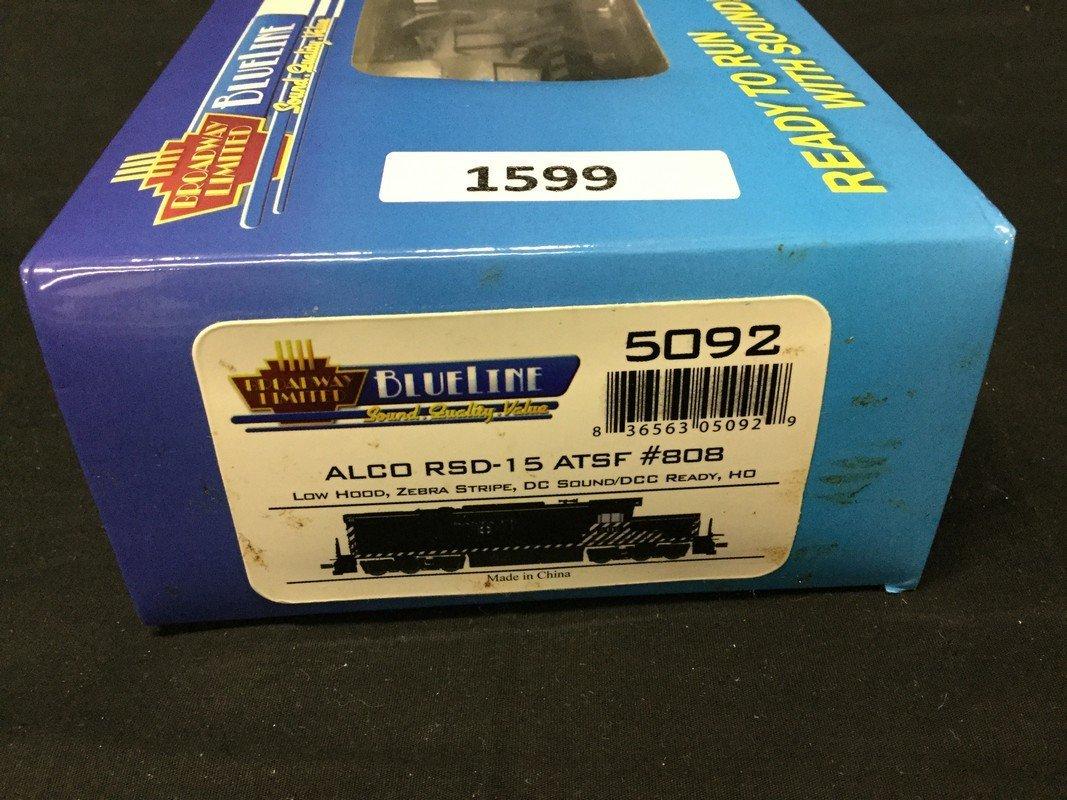 Broadway Limited Blueline Alco RSD-1 #808 Locomotive - 2