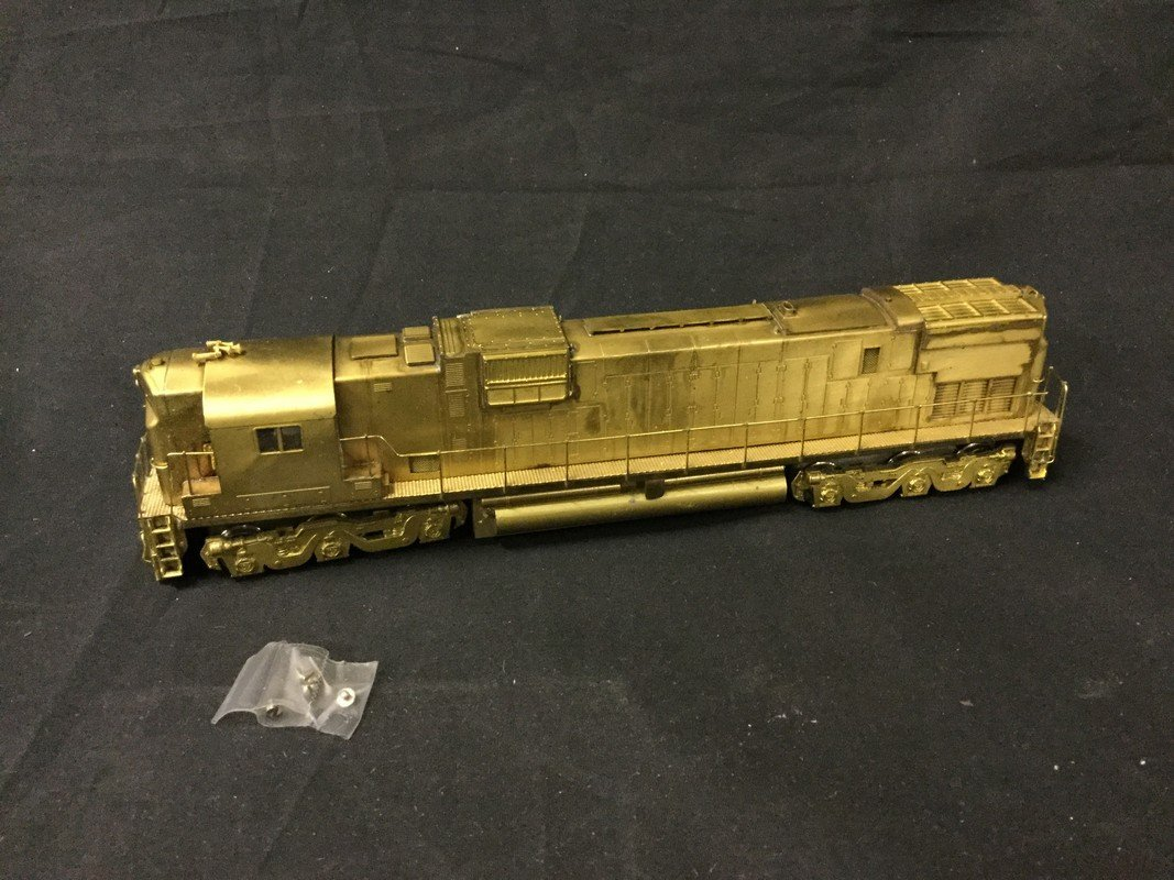 Alco SD-45 D-130 brass Locomotive