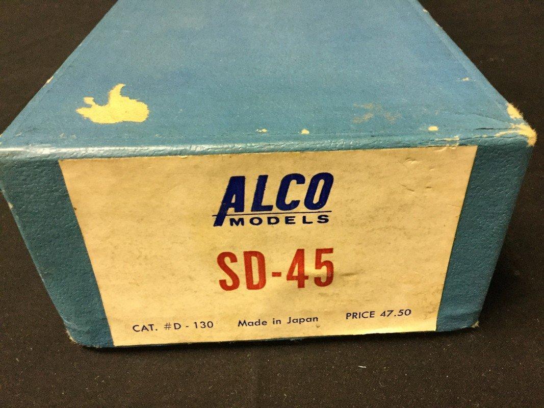 Alco SD-45 D-130 brass Locomotive - 2