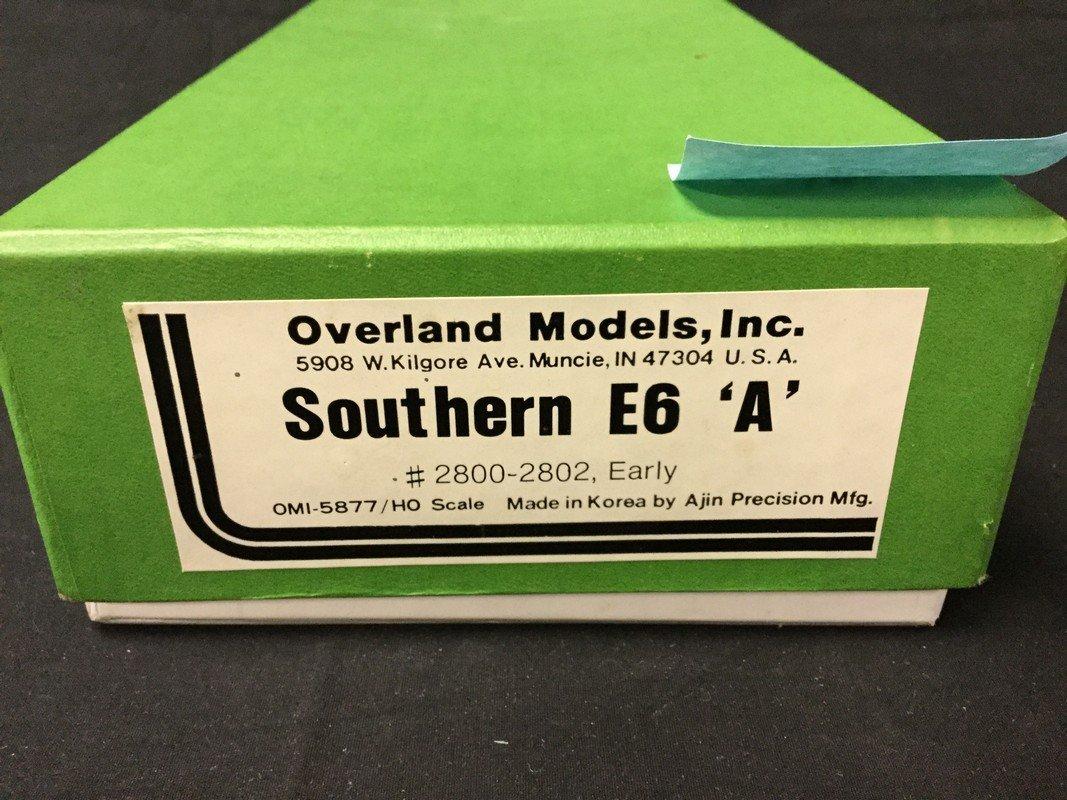 HO Scale Brass OMI Overland Models INC. Southern E6A - 2