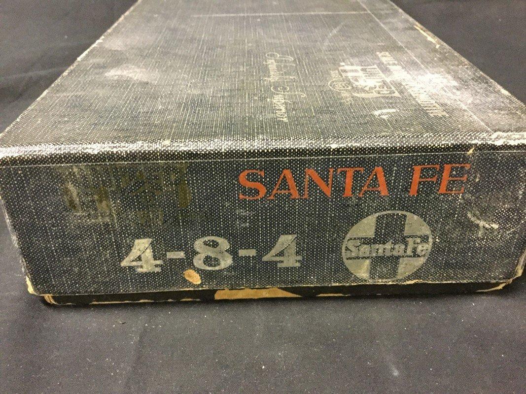 Santa FE 4-8-4 #3779 Steam Locomotive HO Scale - 2
