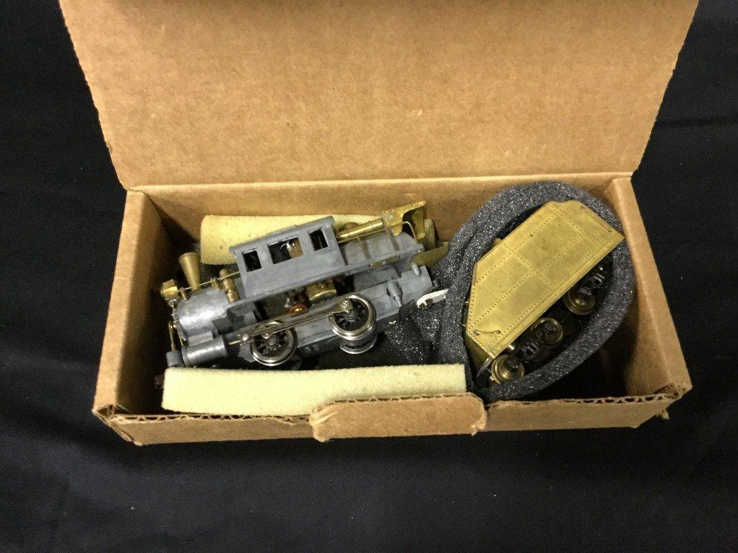 Box of model train electronics - 2
