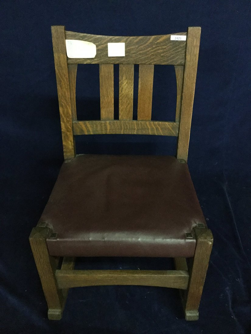 Gustav Stickley / Harvey Ellis nursing Rocking chair