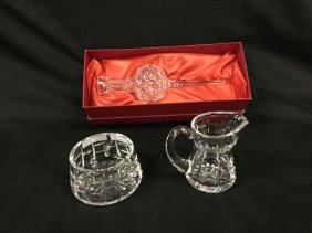 Waterford Crystal 3 pcs. (Marked)
