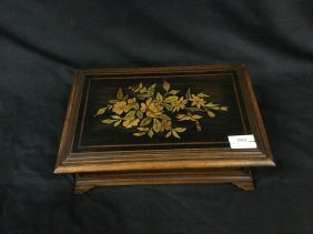 Inlaid wooden jewelry Box